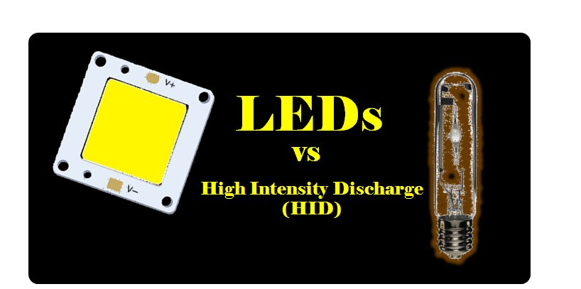 LED vs HID (High Intensity Discharge)