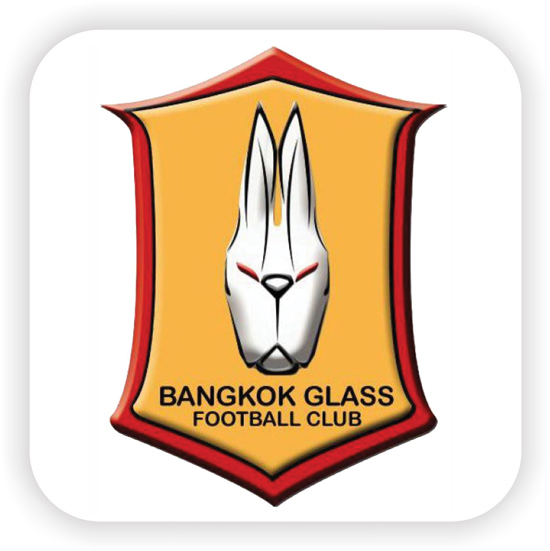 โลโก้ BANGKOK GLASS  FOOTBALL CLUB