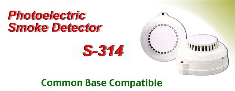 S-314 PHOTOSMOKE DETECTOR D.2WIRE