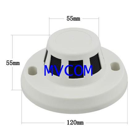HD HIDDEN Smoke Detector Covert Camera For AHD/TVI/CVI Analog: 2000TVL