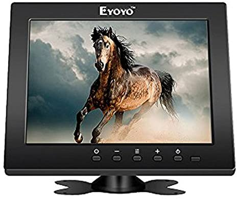 Eyoyo Monitor LCD 8 นิ้ว resolution 1024x768 รับประกัน 1 ปี