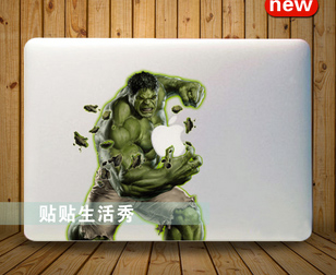 Hulk decalsticker macbook pro air retina 13