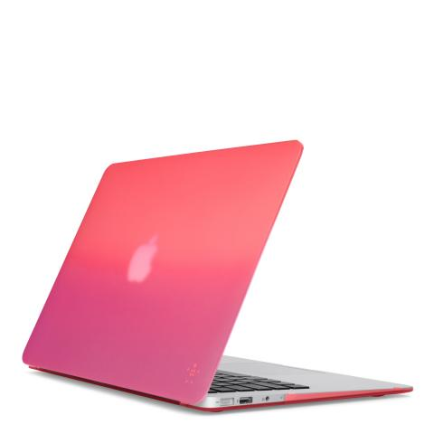 Belkin macbook air 13 case Gradient Case สีชมพูม่วง