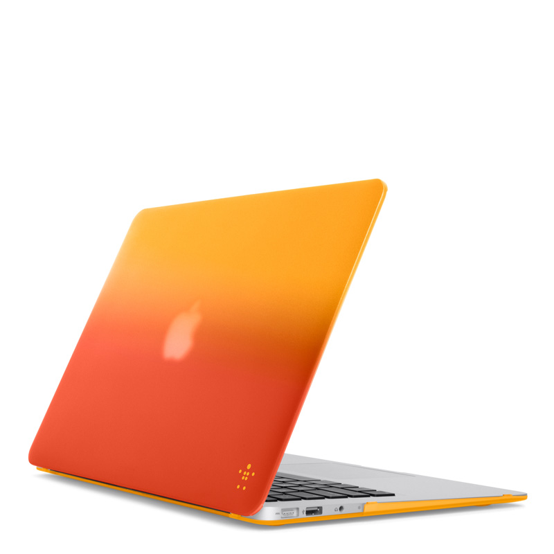 Belkin macbook air 13 case Gradient Case สีส้มเหลือง