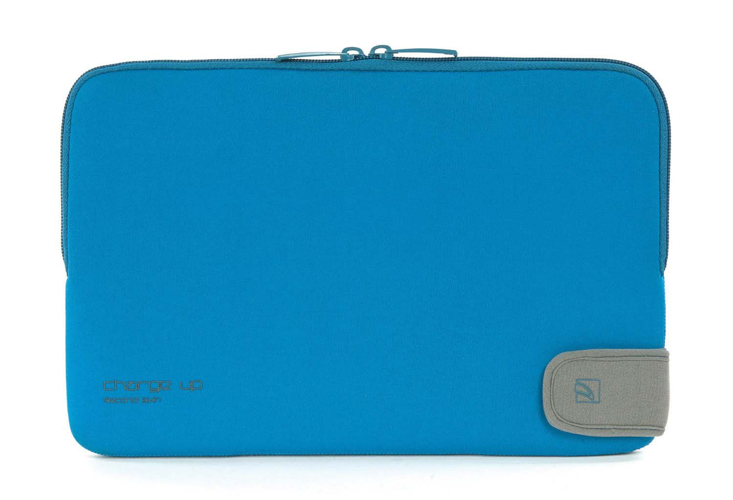 TUCANO SECOND SKIN SLEEVE FOR MACBOOK 15 CHARGE_UP Blue