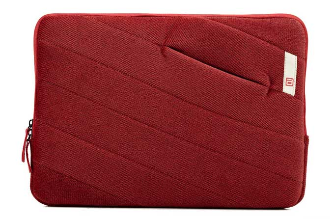 AGVER macbook sleeve for 13 inch - RED