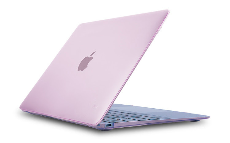 JCPAL Ultra thin Case for Macbook 12 inch - Pink Powder