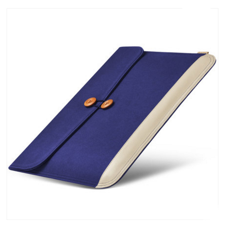 กระเป๋า ซอง TORRAS Elegant series for macbook Air, Retina 13 inch - Deep Elegant Blue