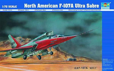 North American F-107A Ultra Sabre 1/72 Trumpeter