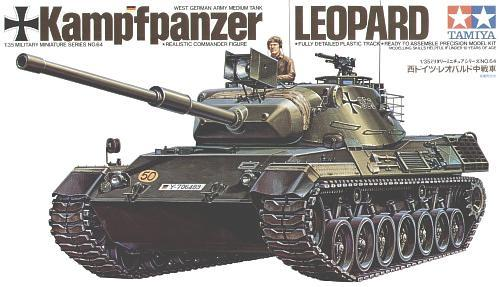 West German Leopard Tank 1/35 Tamiya