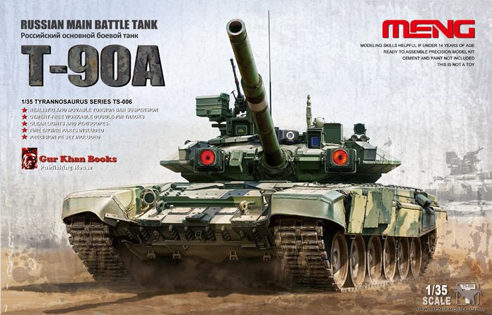 RUSSIAN MAIN BATTLE TANK T-90A 1/35 Meng