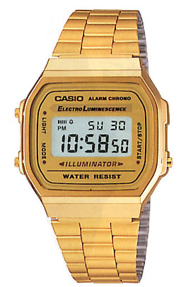  CASIO    A168WG-9WDF