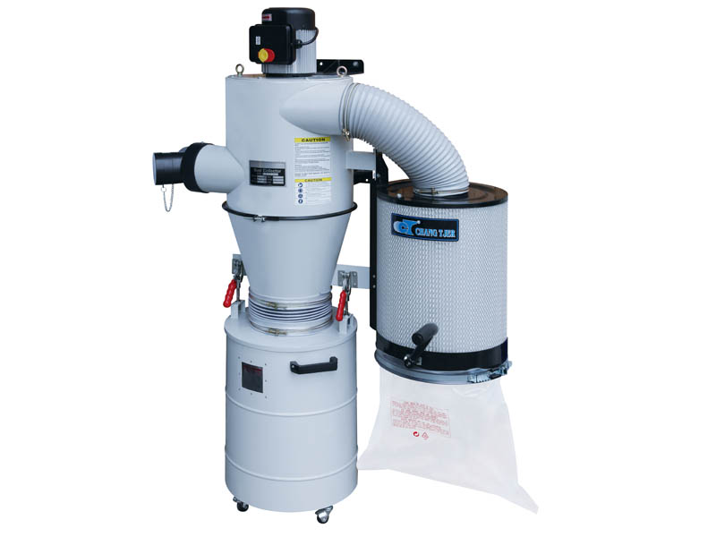 PORTABLE DUST CYCLONE WITH MANUAL CANISTER CLEANING SYSTEM-UB-3000V