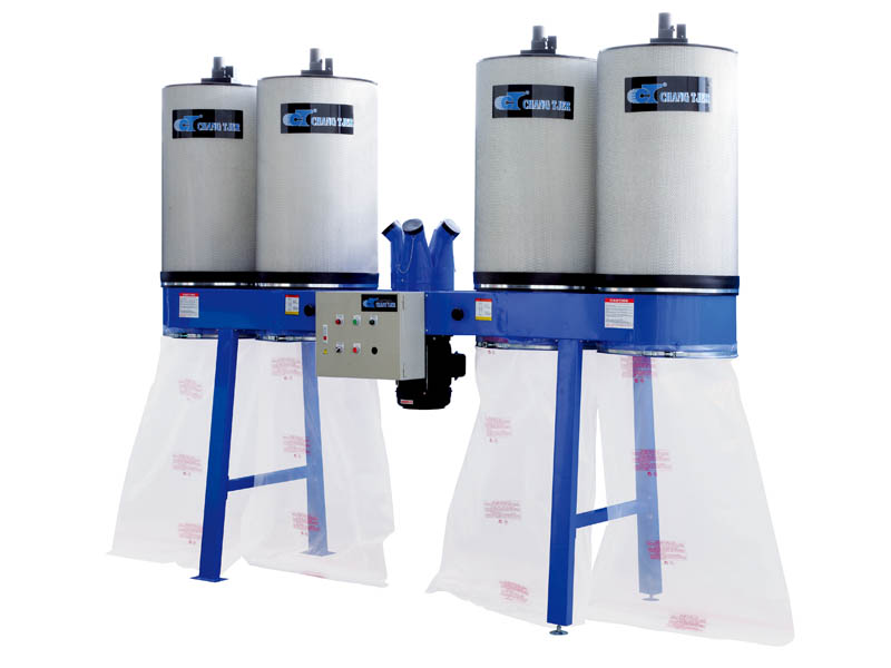 DUST CYCLONE WITH AUTO CLEAN CANISTER SYSTEM 7-12HP-10 HP-UB-807ECK