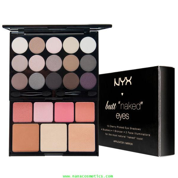 NYX Butt Naked Eyes Palette S122