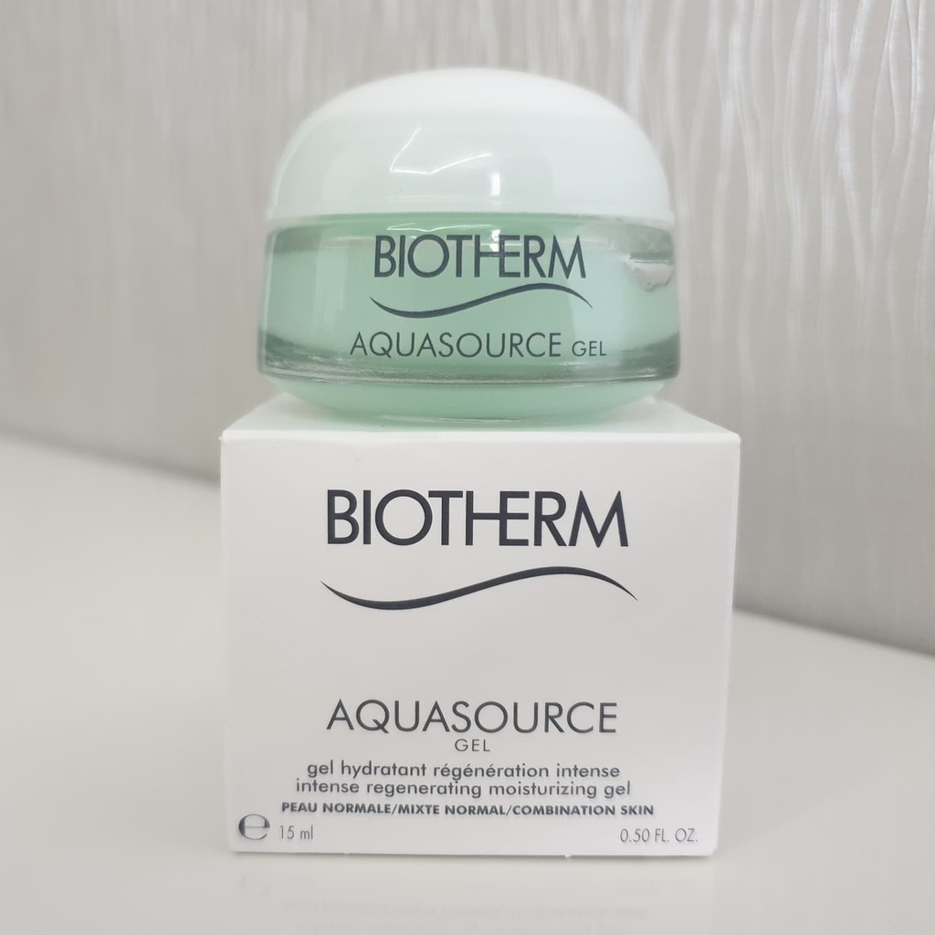 Biotherm Aquasource Gel Intense Regenerating Moisturizing Gel 15ml.