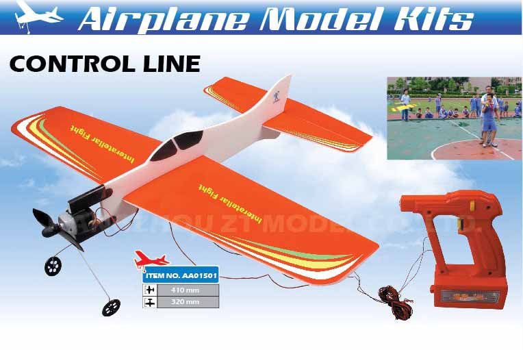 EP-040 CONTROL LINE INTERSTELLER FIGHTER
