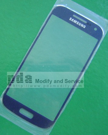 กระจกกันหน้าจอ Original Dark Blue Screen glass lens Samsung Galaxy S4 mini i9190/i9192/i9195