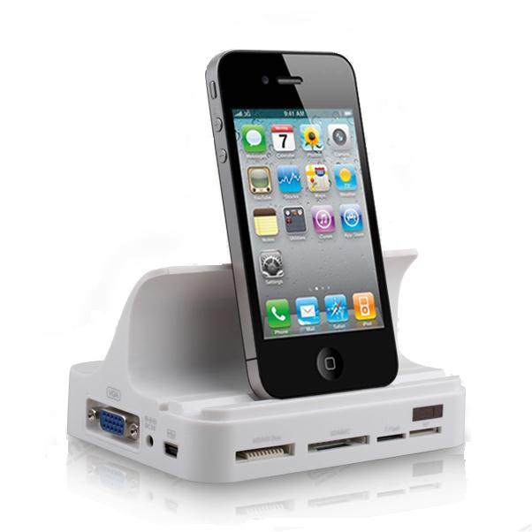 All in One Multi Functional Charger Docking Station สำหรับ iPhone, iPad, iPod