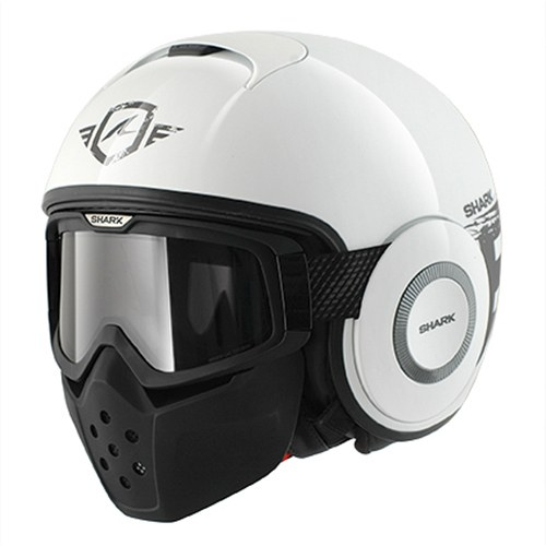 Shark Helmets Raw Trinity White