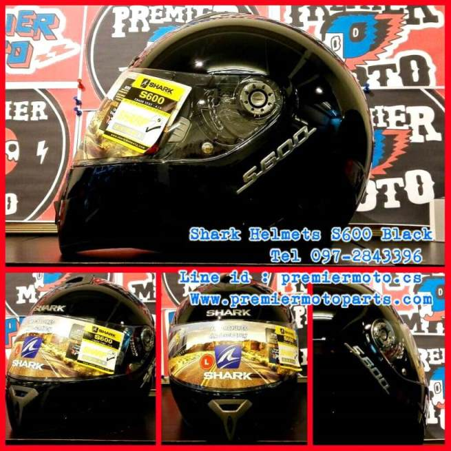 Shark Helmets S600 Black