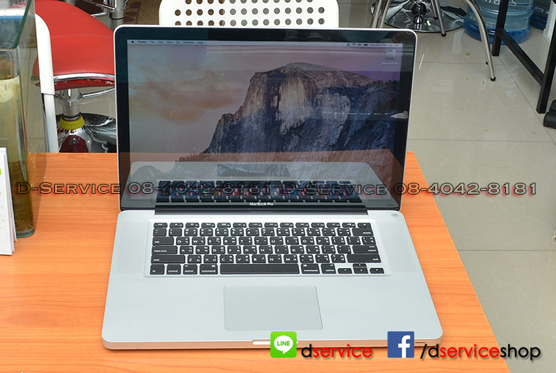 ขาย Macbook Pro 15-inch (2011) Quad i7-2.2GHz4GB750GBRadeon 6750 1GB