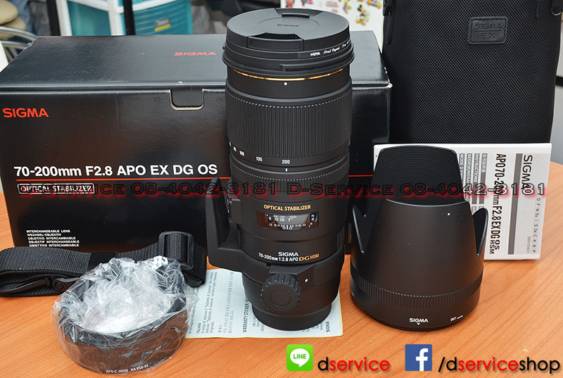 ขายเลนส์ Sigma 70-200mm f2.8 APO EX DG OS HSM For Sony