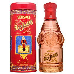 Versace Red Jeans for Women EDTS 75 ml.