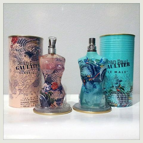 น้ำหอม Jean Paul Gaultier Classique and Le Male Summer 2013