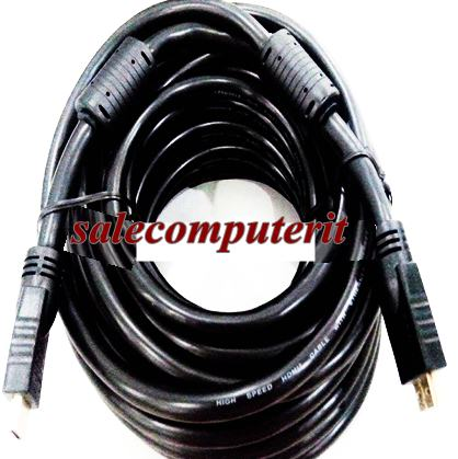 HDMI to HDMI Cable Gold Plated  5m