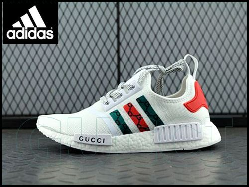 brand new 6c50e 3c764 Shoes Adidas NMD R1 X Gucci Sneaker Canvas Casual Shoes ...
