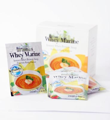 Whey Marine Instant Whey Protein soup Tomyam kung Flavour