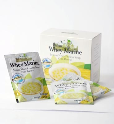 Whey Marine Instant Whey Protein soup Corn Flavour