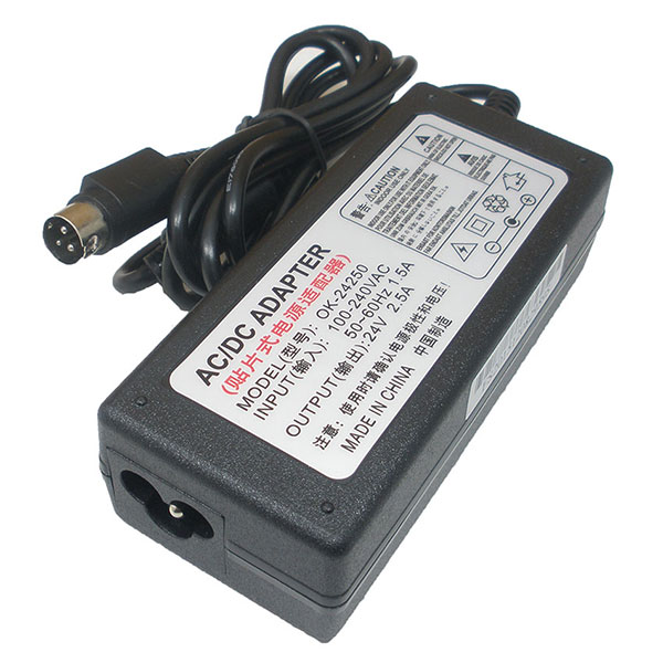 Adapter PrinterScanner Epson Output = 24V2.5A (3 Pin)