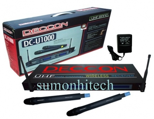 Wireless Microphone System รุ่น DCU1000