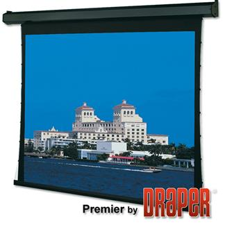 Premier 45x80 (91 Diag.) Projector Screen, HDTV Format, Pearl White Fabric w/Quiet Motor