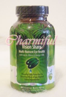 Vision Sharp Precision Eye Health, 42 ct บำรุงสายตาIrwin Naturals