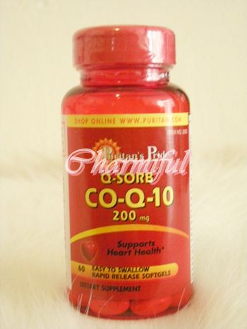 คิวเท็นCoQ10 -200 mg 60 rapid release softgels*puritan