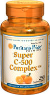 Super C-500 Complex 250coated caplets