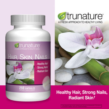 trunature Hair, Skin, Nails 250 Capsules