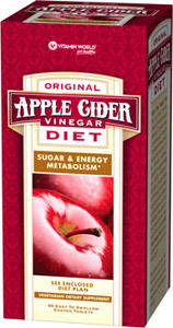 Vitamin World Apple Cider Vinegar Diet 90 Tablets