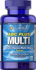 puritans pride ABC Plus Multivitamin and Multi-Mineral Formula 100 Caplets