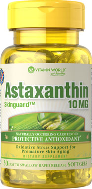 vitamin world astaxanthin 10 mg.30 softgelsแอสตาแซนทิน