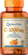 พูริแทน Vitamin C 1000mg with Bioflavonoids, 100 tablets
