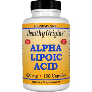 Healthy Origins Alpha Lipoic Acid 600 mg. 150 Capsules