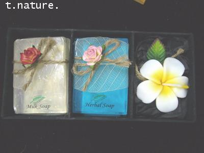 gift set 2 bars +leeravadee