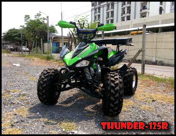 New Upgrade THUNDER-125R 8