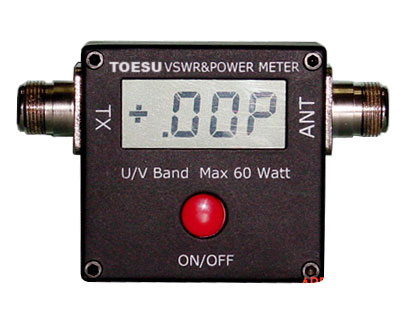 SWR และ WATTS METER ระบบ DIGITAL 100MHz-500MHz และ 2MHz-50MHz