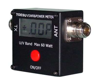 SWR และ WATTS METER ระบบ DIGITAL 100MHz-500MHz และ 2MHz-50MHz 1