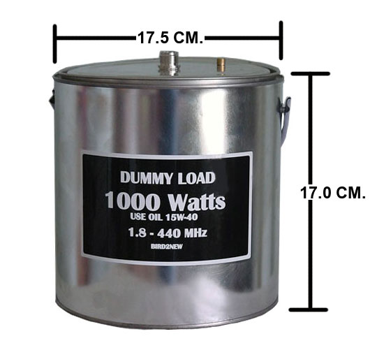 DUMMY LOAD 1,000-4,000Watts 1.8-440MHz 1